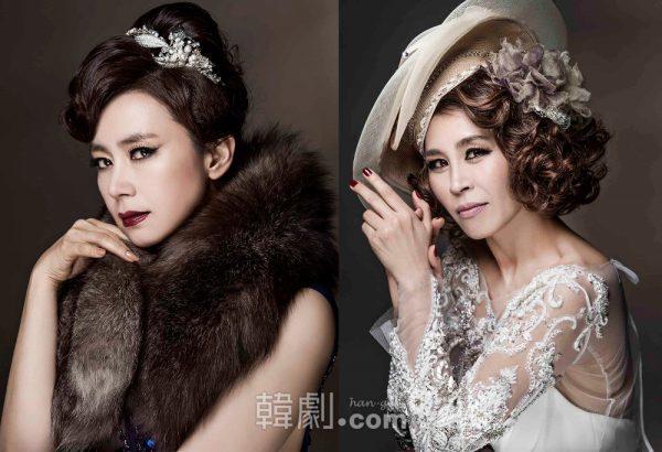 シドニー・ポラック役:キム・ソンギョン(左)とチェ・ジョンウォン