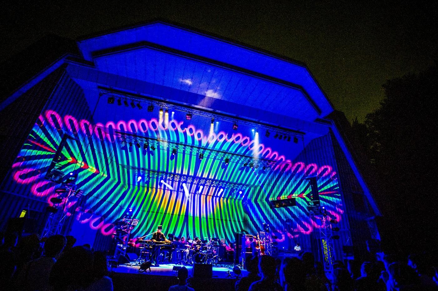 H ZETTRIO  日比谷野外音楽堂公演の模様