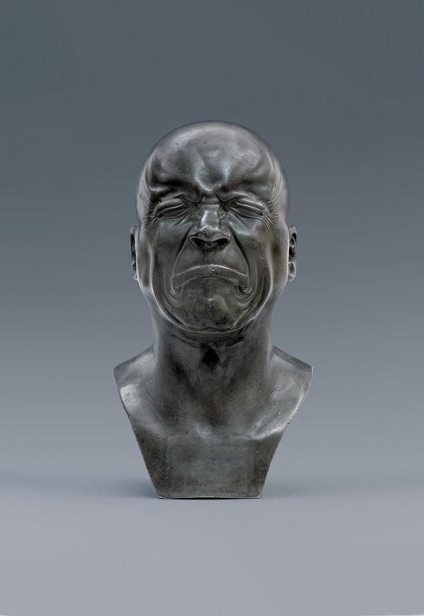 フランツ・クサファー・メッサーシュミット《性格表現の頭像》1771-1783年の間 Photo © Musée du Louvre, Dist. RMN-Grand Palais / Pierre Philibert /distributed by AMF-DNPartcom