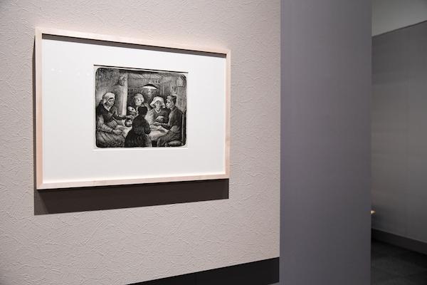 フィンセント・ファン・ゴッホ《ジャガイモを食べる人々》 ハーグ美術館蔵