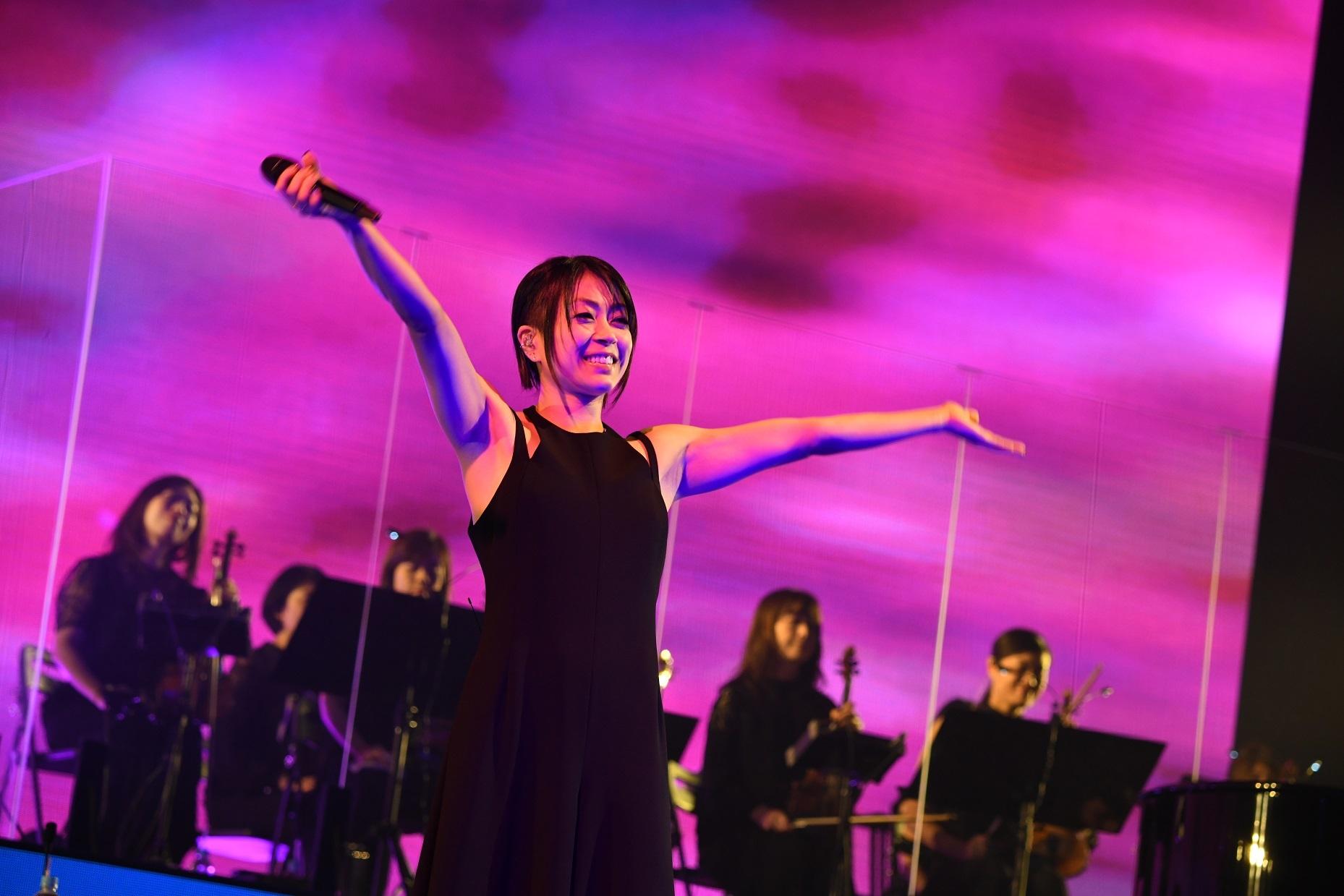 宇多田ヒカル『Hikaru Utada Laughter in the Dark Tour 2018』ファイナル公演 撮影=岸田哲平 TEPPEI KISHIDA