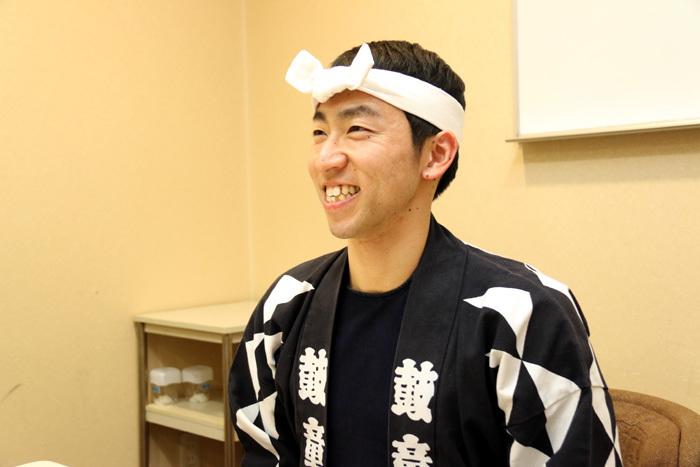 「鼓童」前田剛史  撮影=こむらさき
