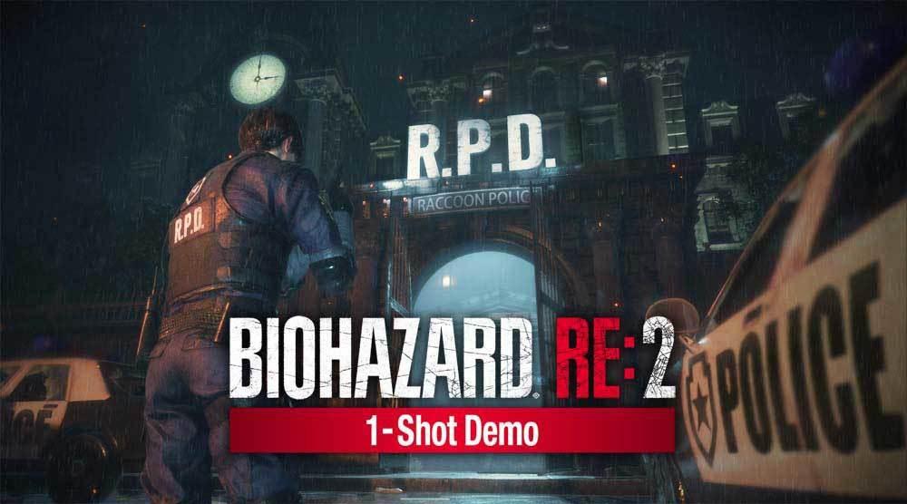 『バイオハザード RE:2 1-Shot Demo』 (C)CAPCOM CO., LTD. 1998, 2019 ALL RIGHTS RESERVED.
