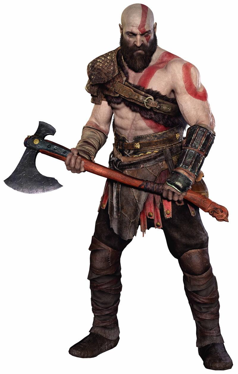 プレイヤーキャラクターの「クレイトス」