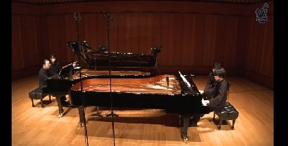 反田恭平×務川慧悟「観客の力で音楽はより豊かに」喜び溢れた2台ピアノの世界~『Hand in hand Vol.2』レポート