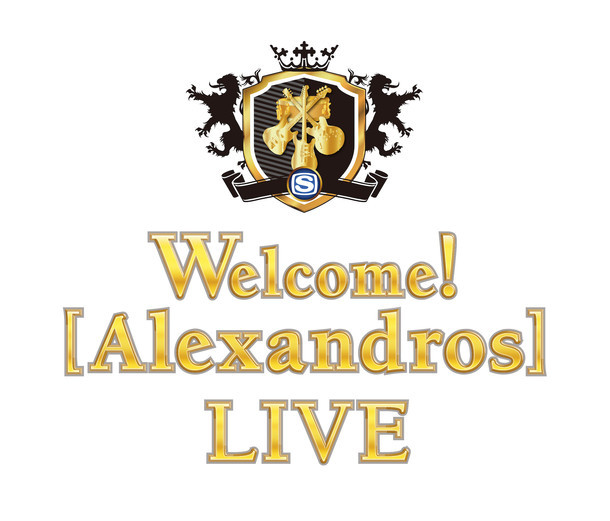 「Welcome![Alexandros]LIVE」ロゴ