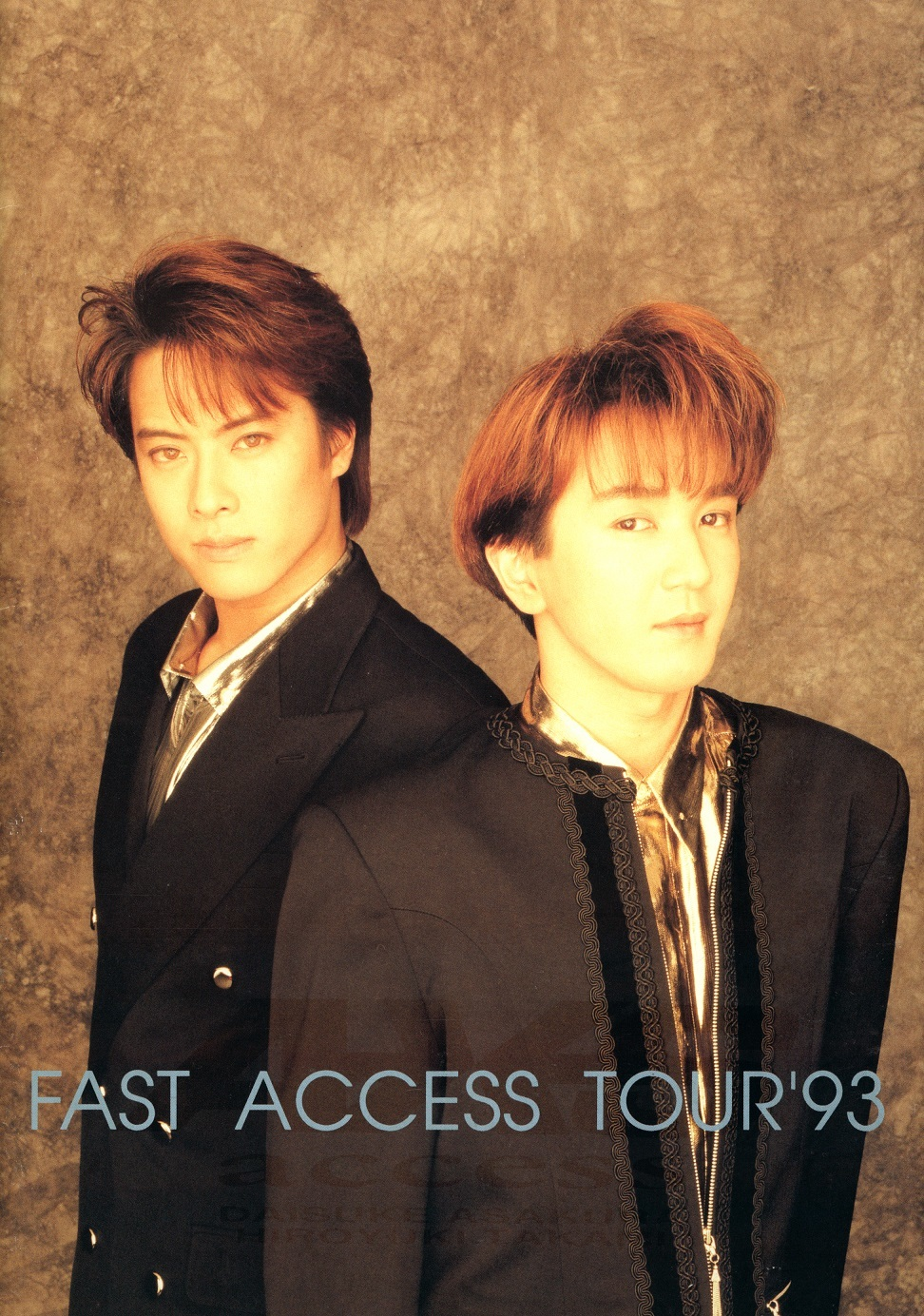 access 1st Tour「FAST ACCESS TOUR '93」ツアーパンフレット