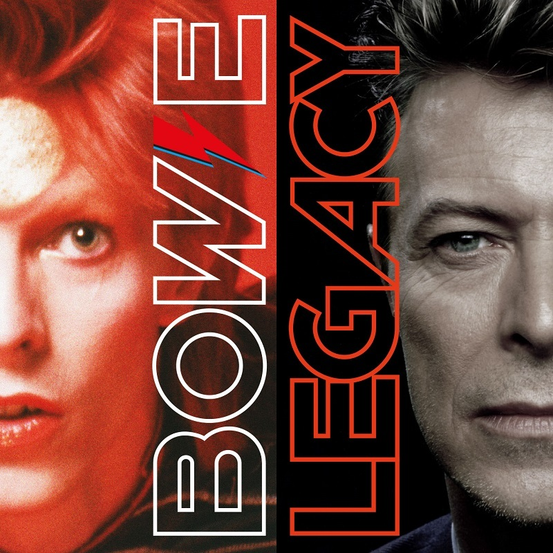 DAVID BOWIE LEGACY 2 CD Track Listing