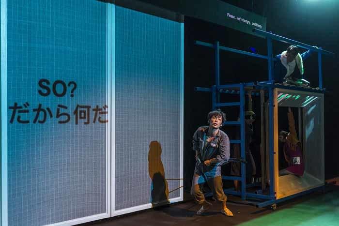 範宙遊泳×THE NECESSARY STAGE『SANCTUARY -聖域-』舞台写真