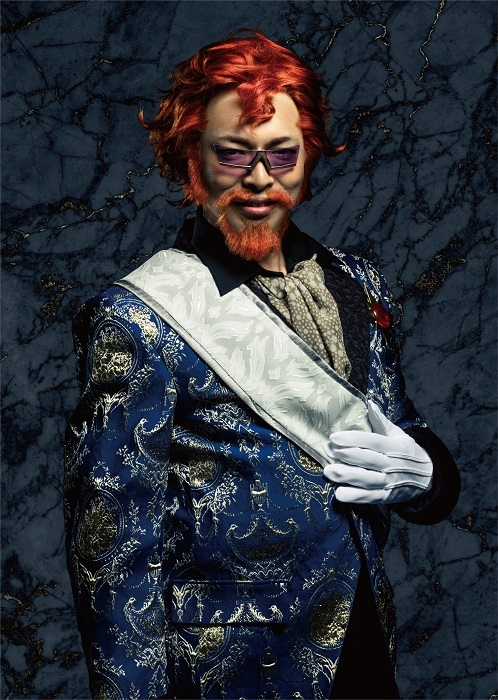 ダングラール男爵:村田洋二郎 (C)2004 Mahiro Maeda・GONZO/KADOKAWA / (C)「巌窟王 Le théâtre」製作委員会