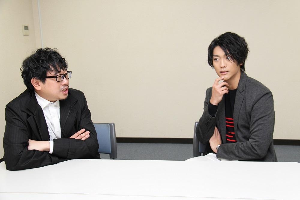 (左から)毛利亘宏、南圭介