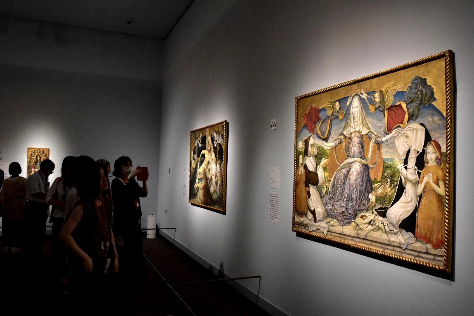 《礼拝》 1962-63年 パリ市立近代美術館蔵 (C) Foundation Foujita / ADAGP , Paris & JASPAR , Tokyo , 2017 E2833