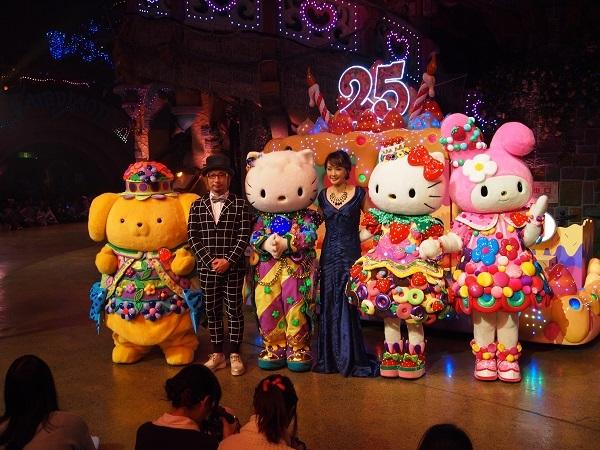 サンリオピューロランド25周年記念パレード「Miracle Gift Parade オープニングセレモニー」