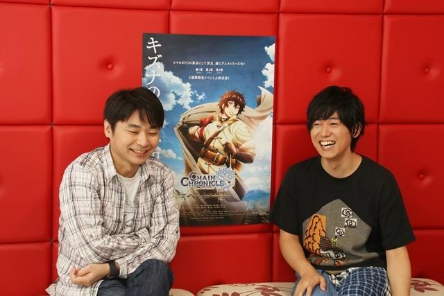 石田彰さんと山下大輝さん二人の主人公が紡ぐアニメ『チェンクロ』