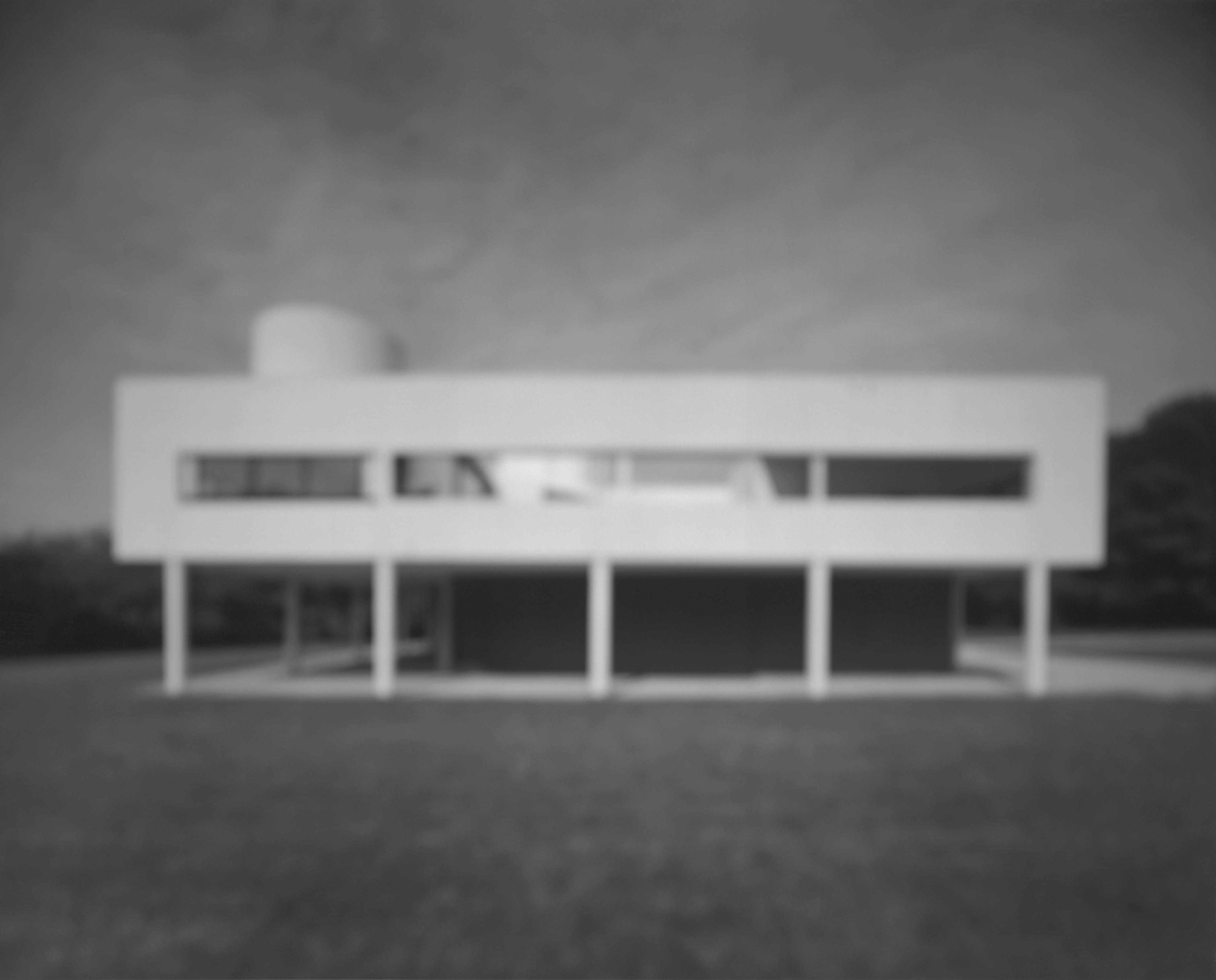 杉本博司「サヴォア邸」(建築家:ル・コルビュジエ)(c)Hiroshi Sugimoto/Courtesy of Gallery Koyanagi