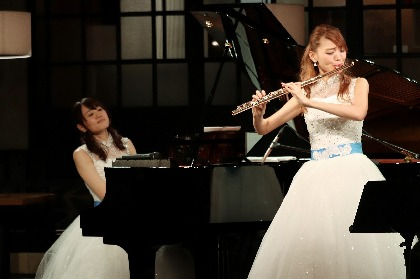 「もっともっとお客様の近くに行きたい」フルートとピアノの女性デュオ「あいのね」がサンデー・ブランチ・クラシックに再登場!