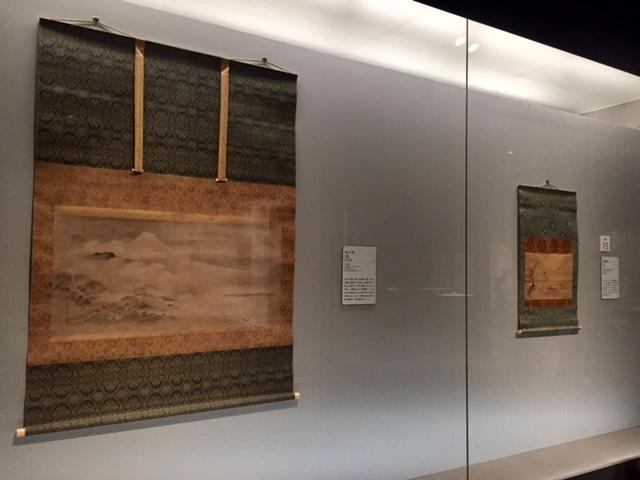 富士山図 狩野探幽 寛文7年(1667) 静岡県立美術館