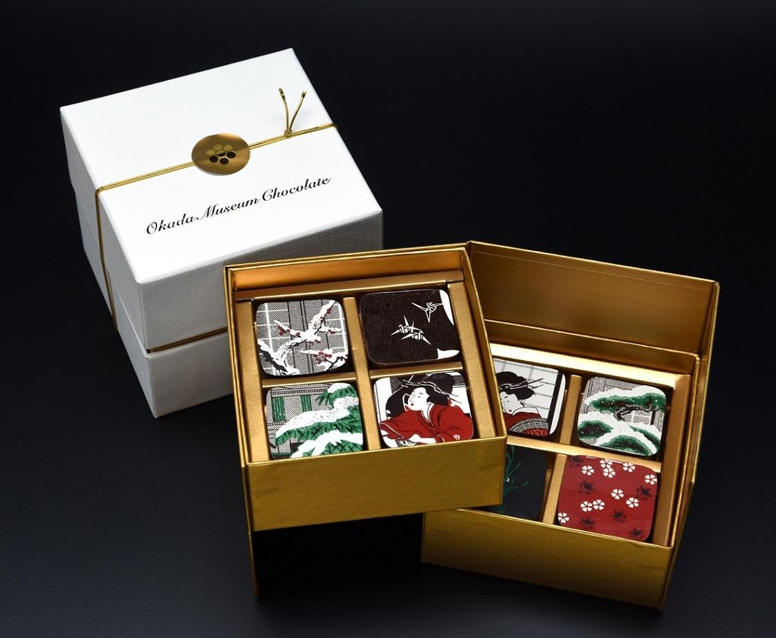 Okada Museum Chocolate『歌麿・深川の雪』 4,801 円(税込)