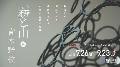 『青木野枝「霧と山」展』が鹿児島県霧島アートの森で開催 鉄が生み出す、自然と生命の循環