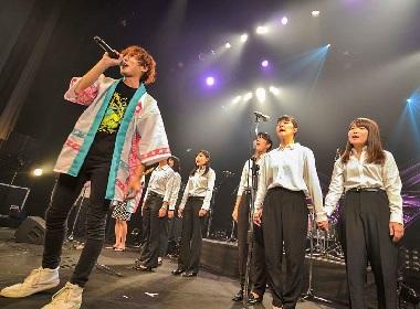フラチナリズム 学生と制作した卒業ソング「テトテ」を学生たちと初歌唱