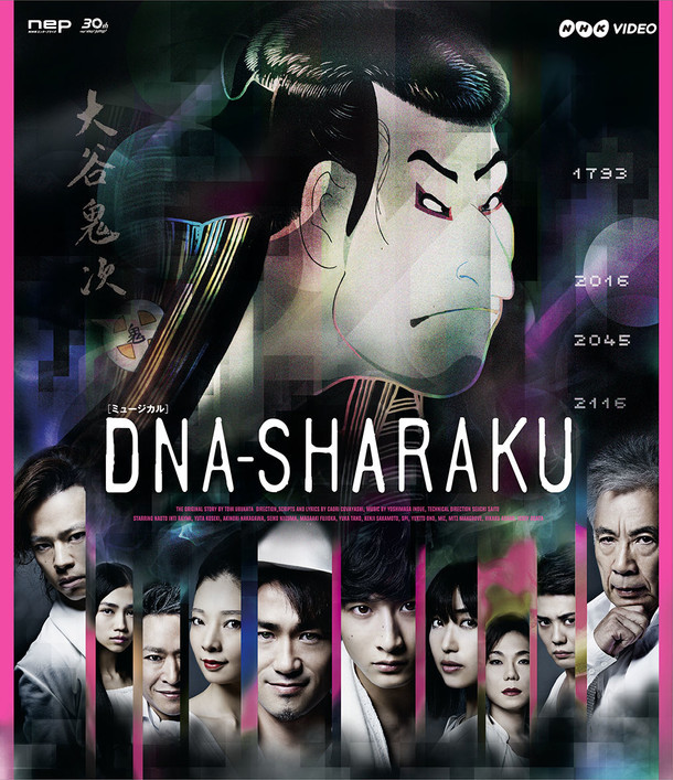 「DNA-SHARAKU」Blu-rayジャケット (c)2016 NHK