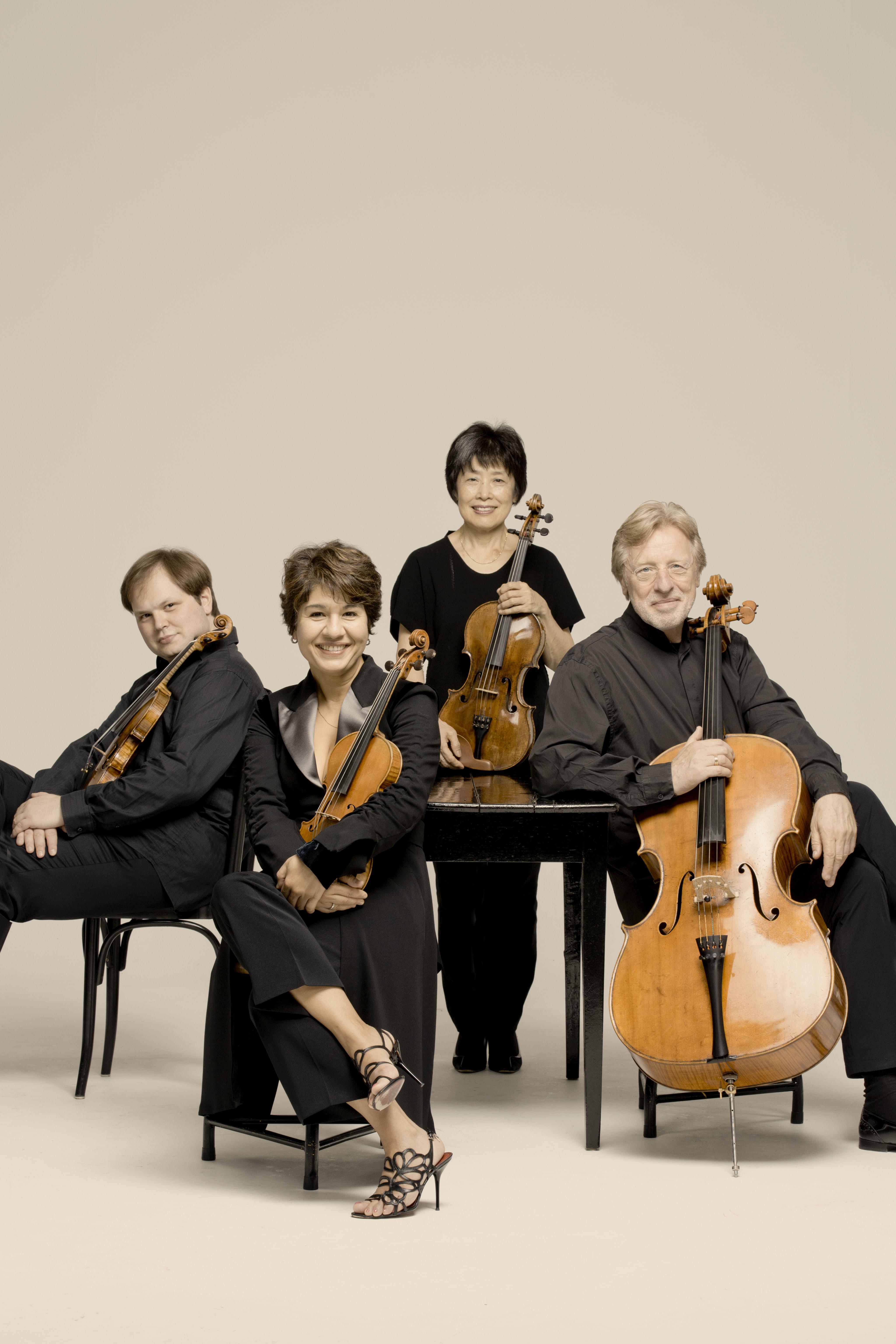妥協のないリハーサルを重ねて最高の演奏を追求するミケランジェロ弦楽四重奏団 (c)Marco Borggreve