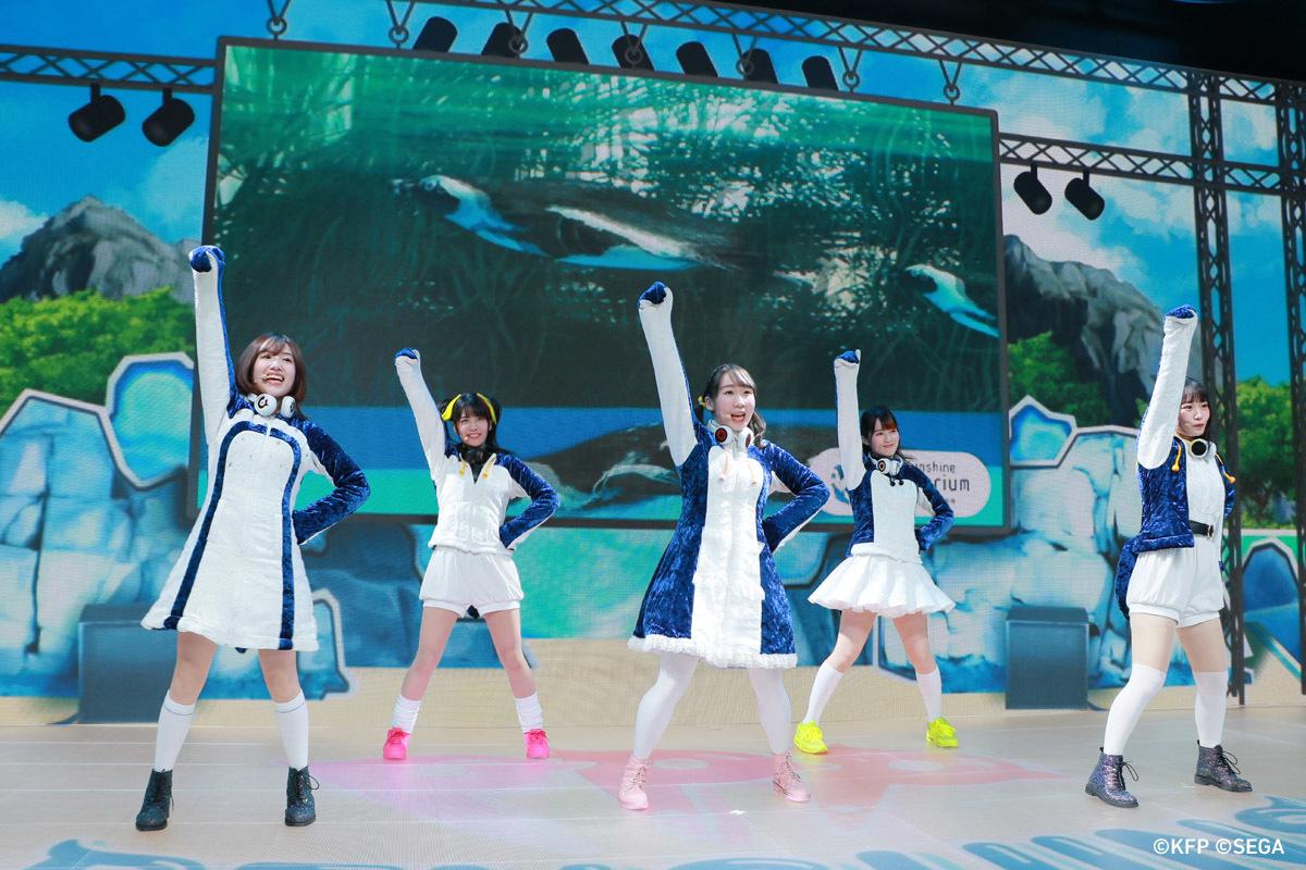 『PPP ONLINE LIVE~世界ペンギンの日大感謝祭~』より (c)KFP (c)SEGA