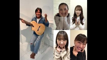 """松崎しげるが70歳で初の自撮りに挑戦、ももいろクローバーZをコーラスに迎えた""""笑顔""""テーマのオリジナル楽曲動画を公開"""