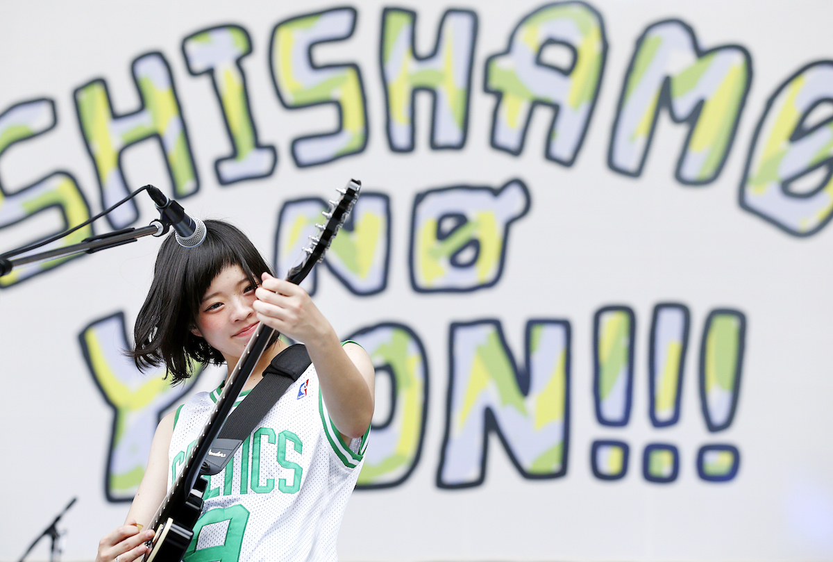 SHISHAMO 撮影=岡田貴之