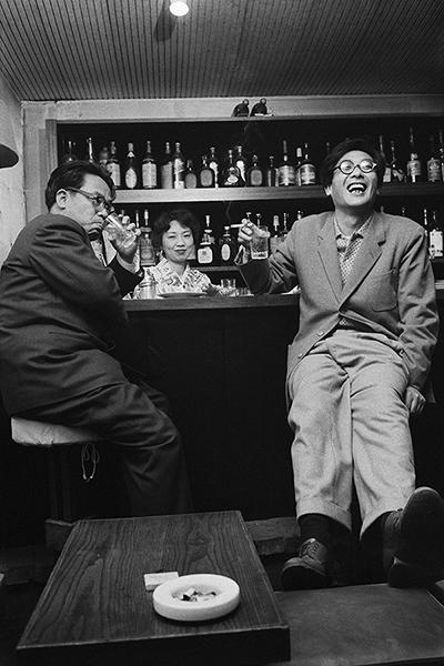 檀一雄と松本清張1958年撮影 [練馬区立石神井公園ふるさと文化館分室展示]