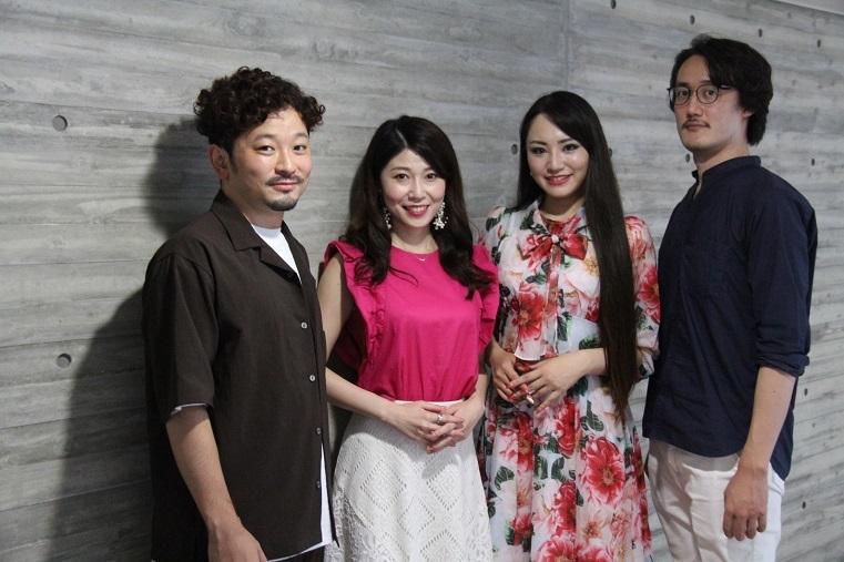 小堀勇介、高橋維、高野百合絵、黒田祐貴(左より)  (C)H.isojima