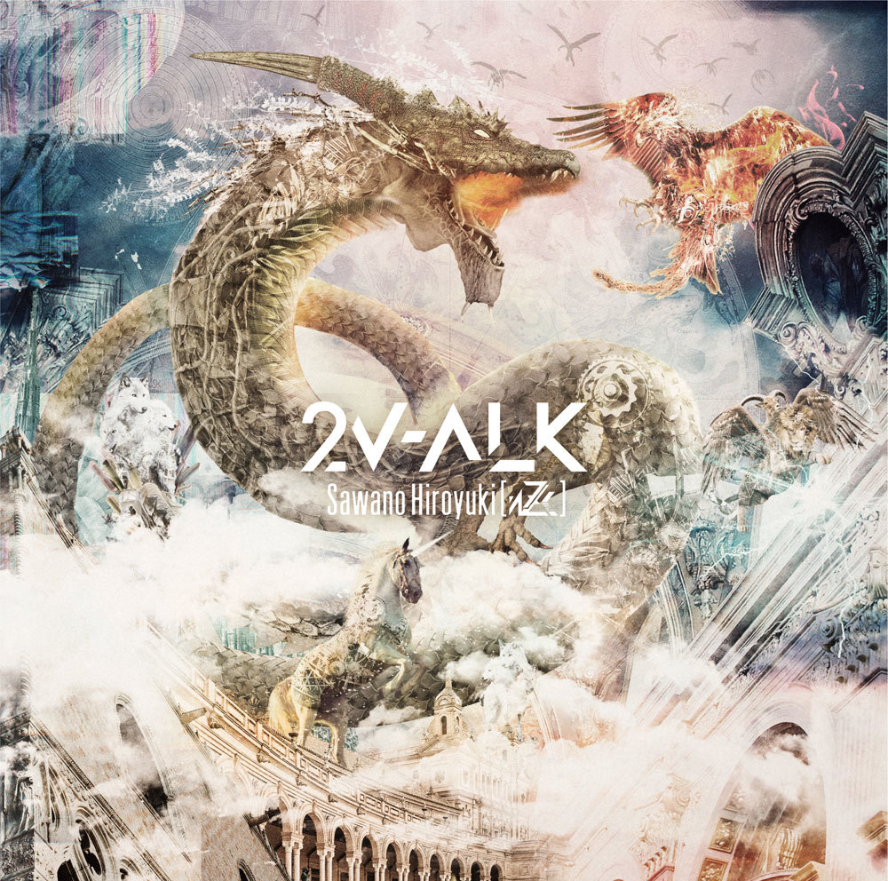 2nd album『2V-ALK』通常盤