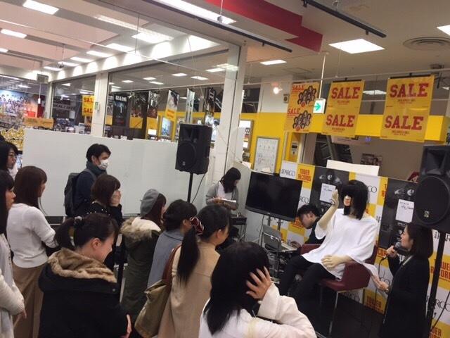 有村竜太朗マネキン イベント風景