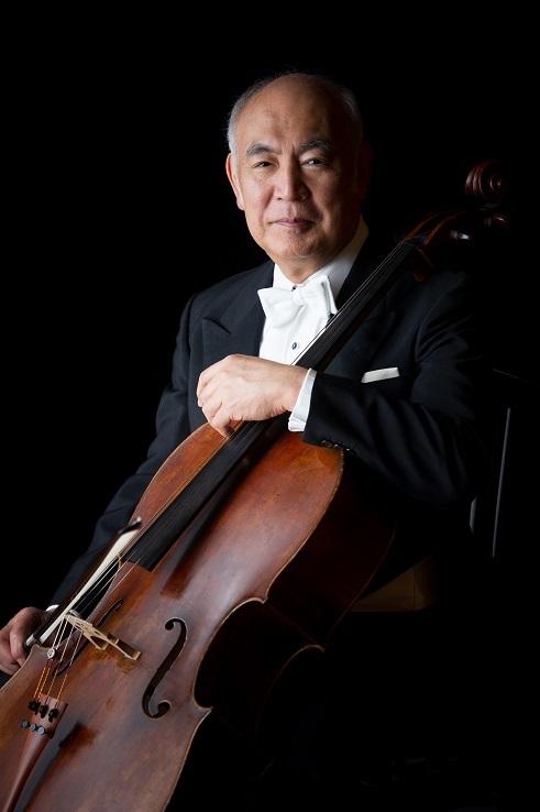 日本を代表するチェロ奏者 堤剛   (C)鍋島徳恭