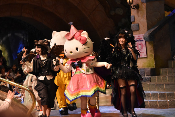 「AKB48 in Puro Halloween」の様子。