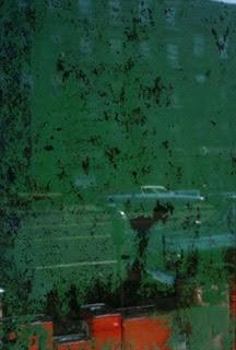 ソール・ライター 《窓》1957年、発色現像方式印画 (C)Saul Leiter Foundation