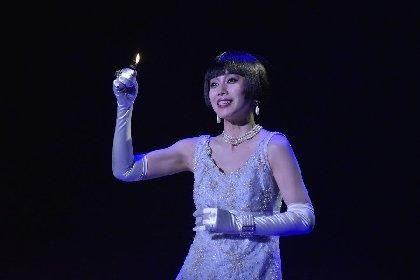 中谷美紀の美しき女盗賊、井上芳雄演じる名探偵との残酷で純粋な愛の駆け引き『黒蜥蜴』開幕