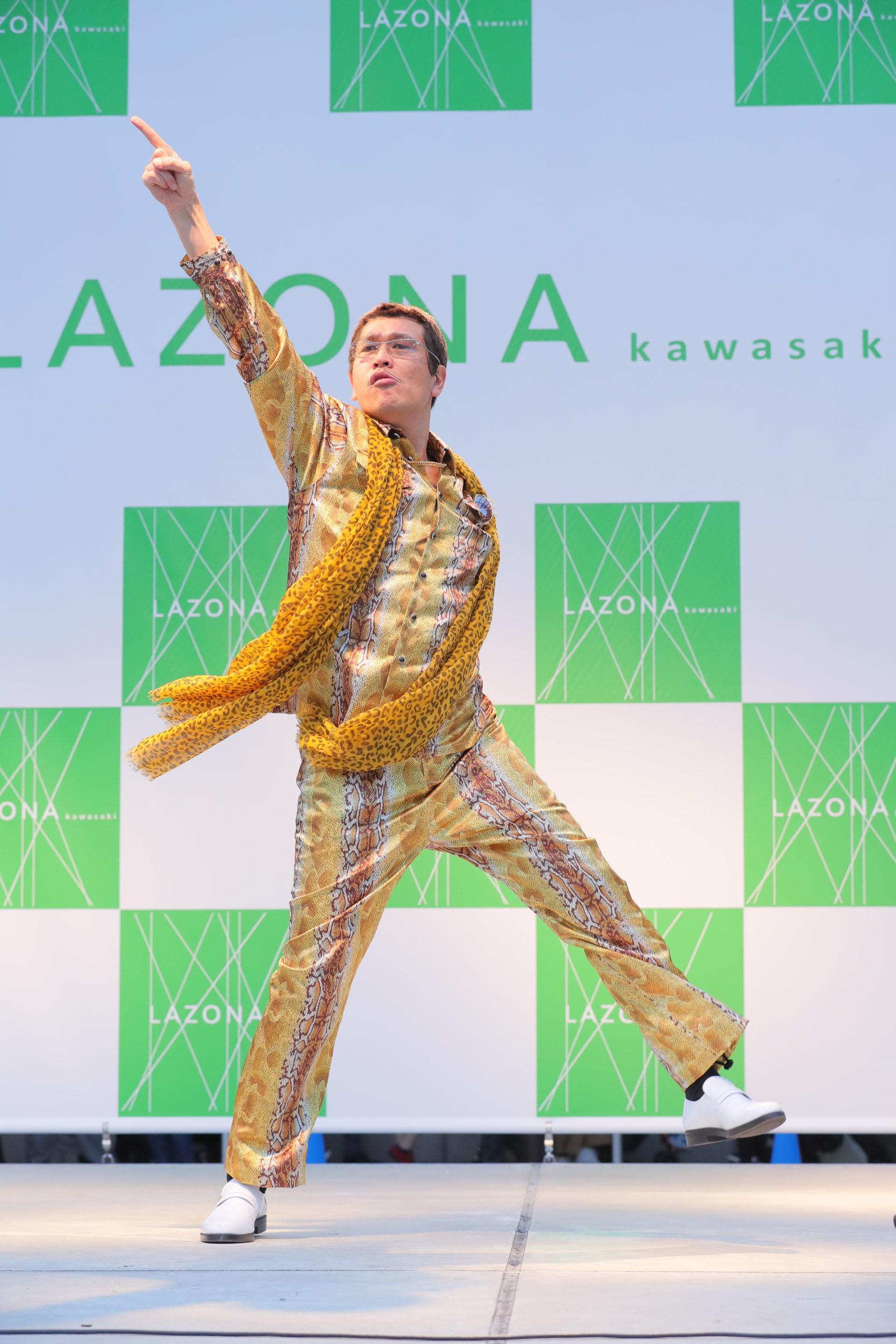 ピコ太郎 ラゾーナ川崎プラザ