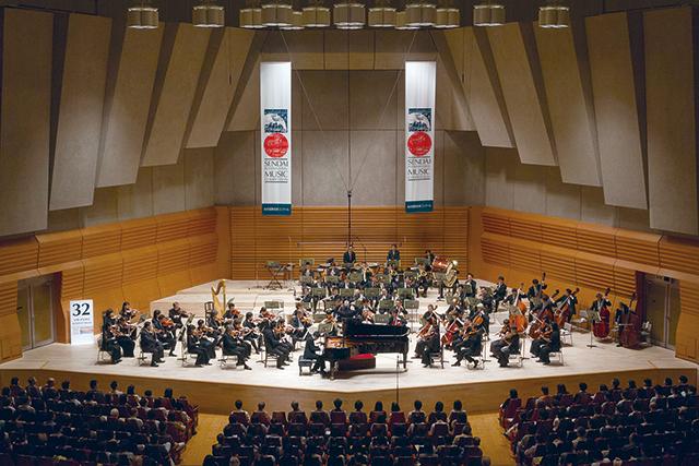 前回の模様(ピアノ部門優勝のソヌ・イェゴン) 写真提供:仙台国際音楽コンクール