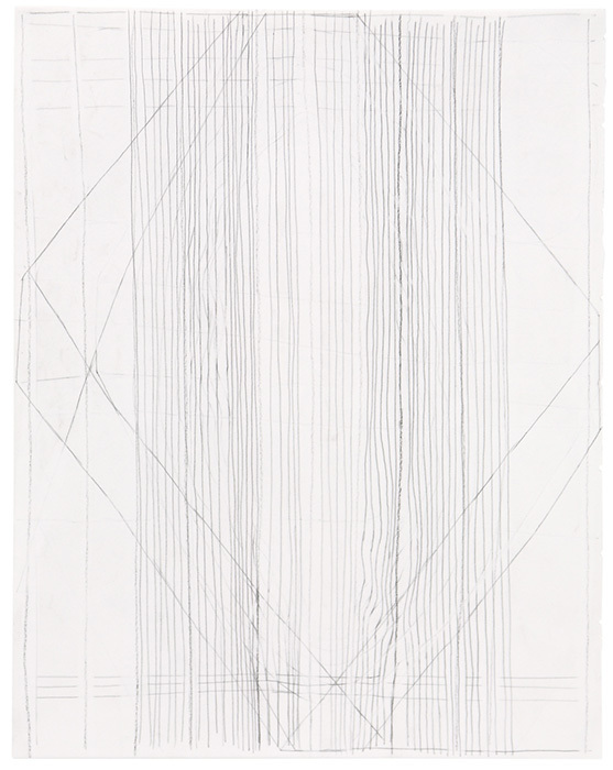 ゲルマン・シュテークマイヤー『Untitled』1998、2001、2013年 pencil and charcoal on paper 34.8×27.5cm ©German Stegmaier