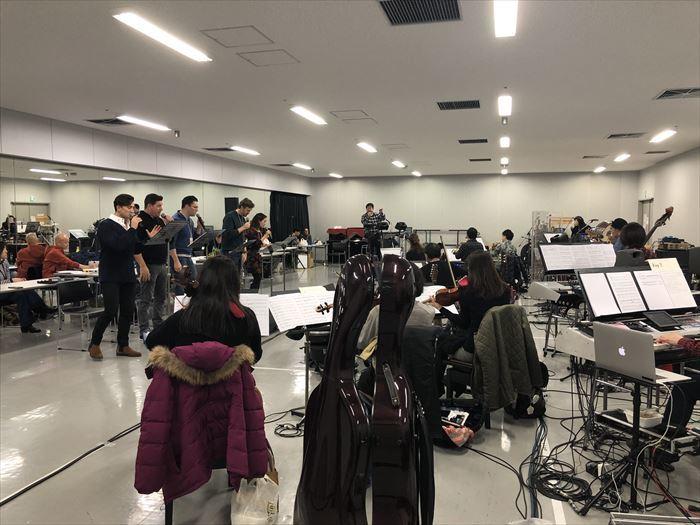 『ニューイヤー・ミュージカル・コンサート 2020』リハーサル模様