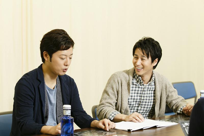 (左から)原田優一、三上真史