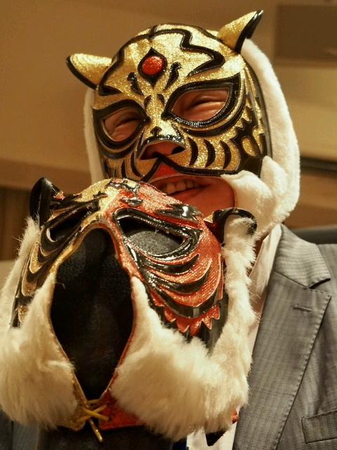 初代タイガーマスクのマスクも用意される