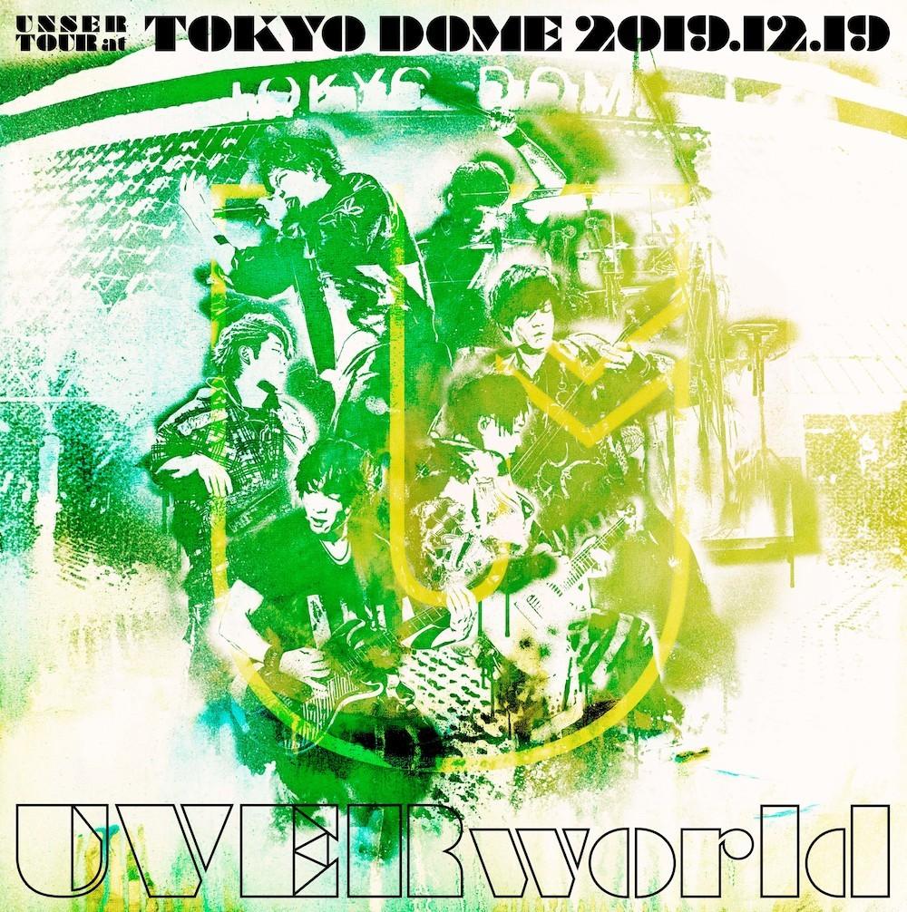 UVERworld『UNSER TOUR at TOKYO DOME 2019.12.19』初回生産限定盤