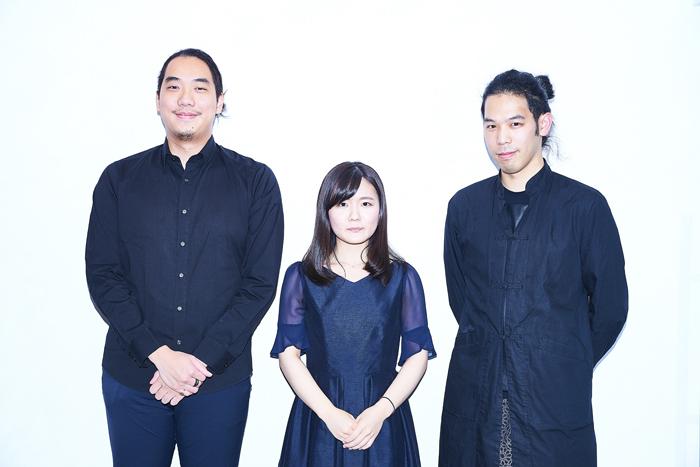 (左から)笹沼 樹、古海行子、秋田勇魚