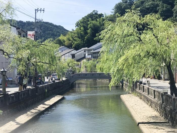 城崎温泉のメイン通り。 [撮影]吉永美和子