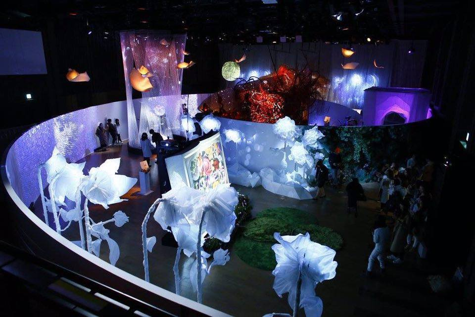 『FLOWERS BY NAKED』2016年冬開催時の全体俯瞰
