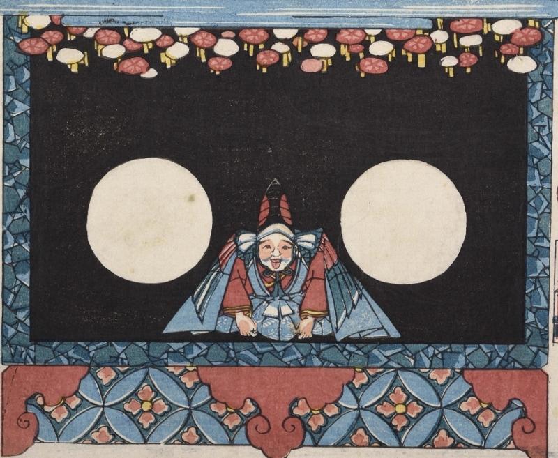 歌川芳藤《新工風うつしゑ》(部分)安政(1854-60)頃 (800x657)