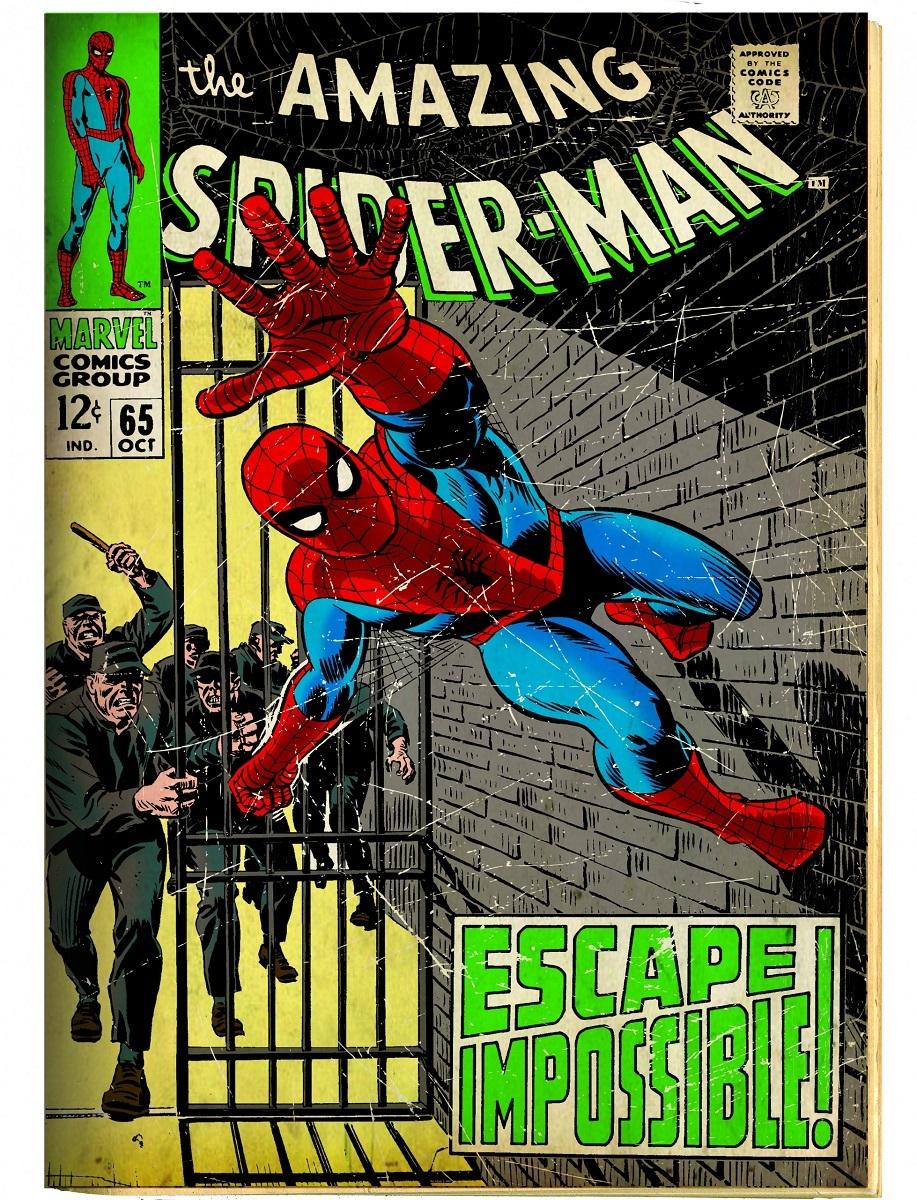 「アメイジング・スパイダーマン」#65(1968年) 原画 © 2017 MARVEL