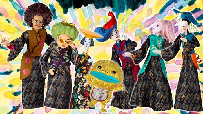 『ひなたと月の姫』人形集合